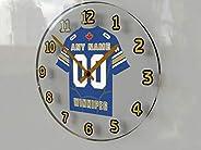 CFL Football - Canadian Football League Wall Clock - Free Customization - The Best A Fan CAN GET!!