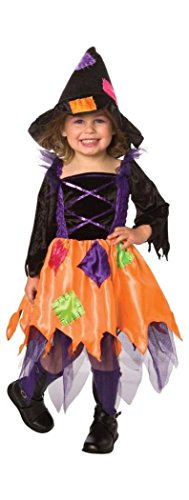 (Patchwork Witch Toddler 1-2t)