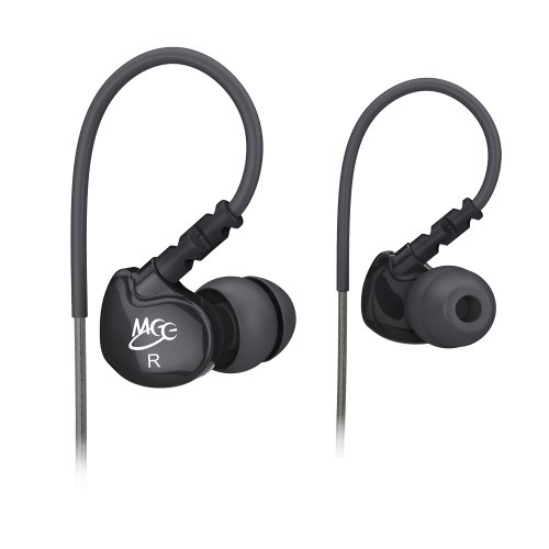 MEElectronics Sport-Fi M6 Noise Isolating In-Ear Headphones with Memory Wire