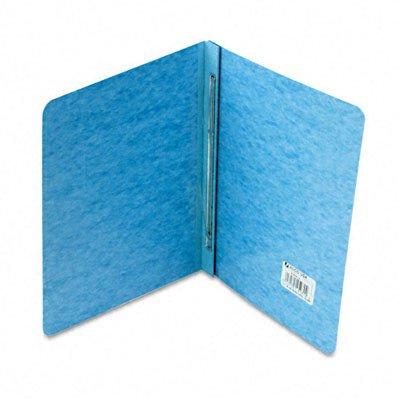 ACCO BRANDS, INC., Pressboard Report Cover, Prong Clip, Letter, 3'' Capacity, Light Blue
