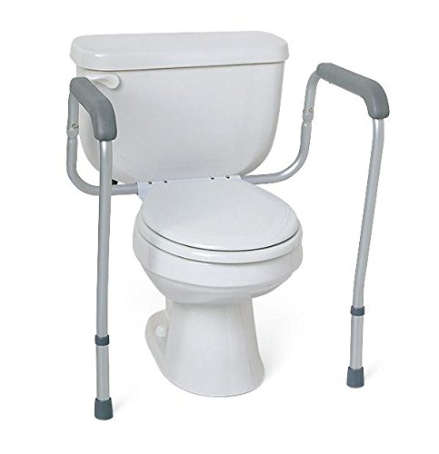 Healthcare Direct 101BSA Toilet Safety Rails by Healthcare Direct
