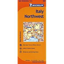 Italy: North West Map MH561 1:400,000
