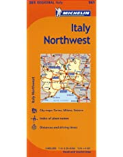 Michelin Italy: Northwest / Italie: Nord-Ouest Map 561