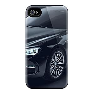 Anti-scratch And Shatterproof Bmw Concept Gran Coupe Phone Cases For Iphone 4/4s/ High Quality Tpu Cases