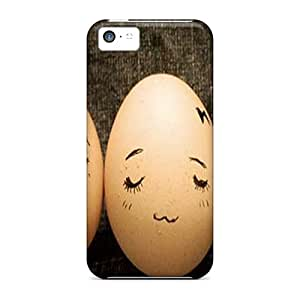 New Eggs Tpu Case Cover, Anti-scratch ArtCover Phone Case For Iphone 5c