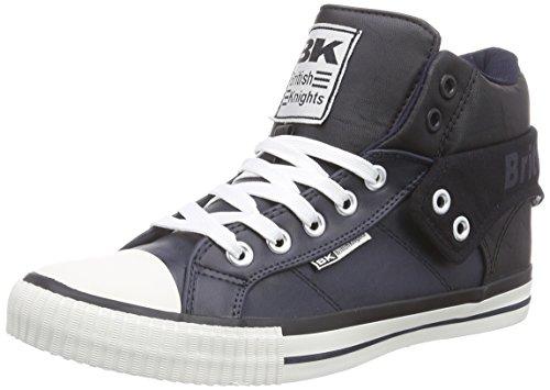 British Knights Roco - zapatillas deportivas altas de material sintético hombre azul - Blau (Navy-Black 27)