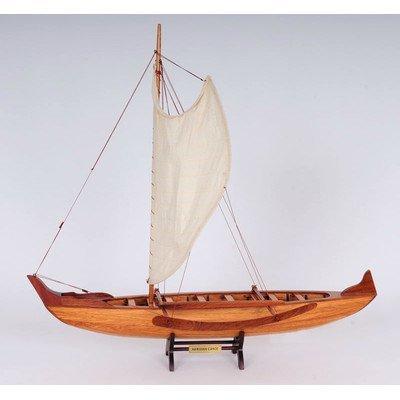 Old Modern Handicrafts Handicrafts Hawaiian Canoe Collectible (Outrigger Spreader)
