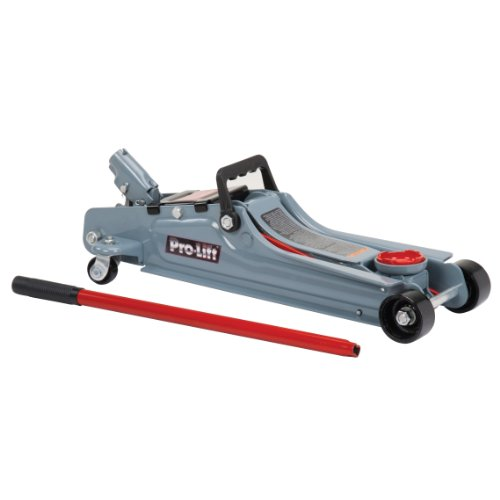 Pro-Lift F-767 Grey Low Profile Floor Jack - 2 Ton Capacity (Car Jack Low Floor Profile)