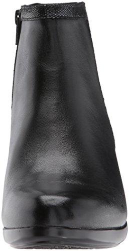Leathe Lexee Women's Black Ankle Binded Aravon Bootie wUqY66