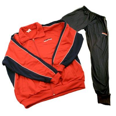 all4you-sportswear Chándal, color rojo/negro, talla S: Amazon.es ...
