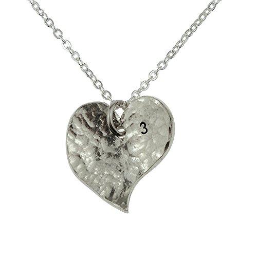 3e Année anniversaire-Collier cœur-Excellent 3ème Cadeau d'anniversaire pour votre femme