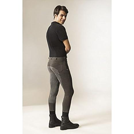 Pantalón de equitación para hombre, culera completa Ekkitex, talla ...