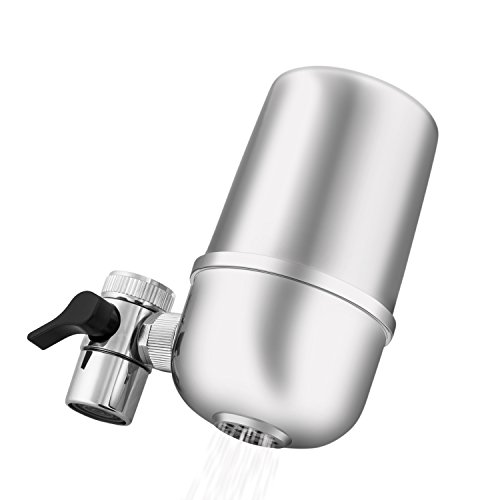 Faucet Water Filter, Water Saving Tap with Multi Stage Water Purifier, Kitchen Faucet Water Filter, Faucet Mount Water Filters, Chrome