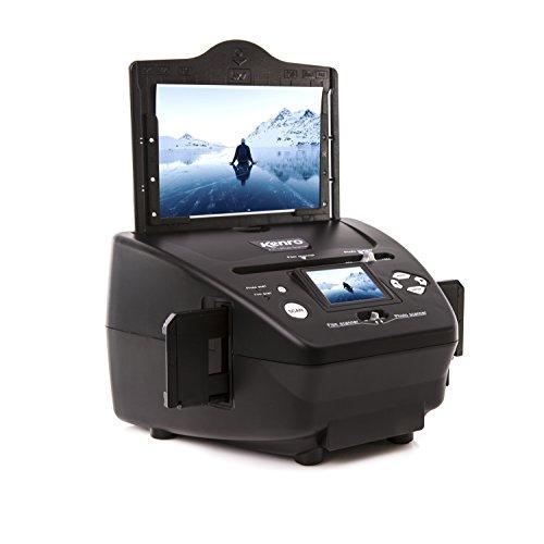 Kenro 4-in-1 Photo & Film Scanner, Create Digital Copies of Photos Slides...