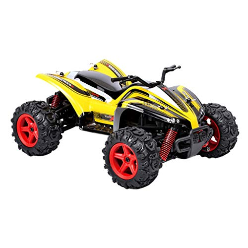 Birdfly Remote Control Car RC Cars 1/24 2.4G 40km/H Independent Suspension Off Road Crawler Toy Car Children Christmas Gift (Yellow)