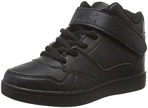 KangaROOS Skyline Kids - Zapatillas Unisex Niños Negro - negro (negro 500)