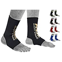 RDX MMA Ankle Brace Foot Guard Boxing Protector Achilles Tendon Support Pain