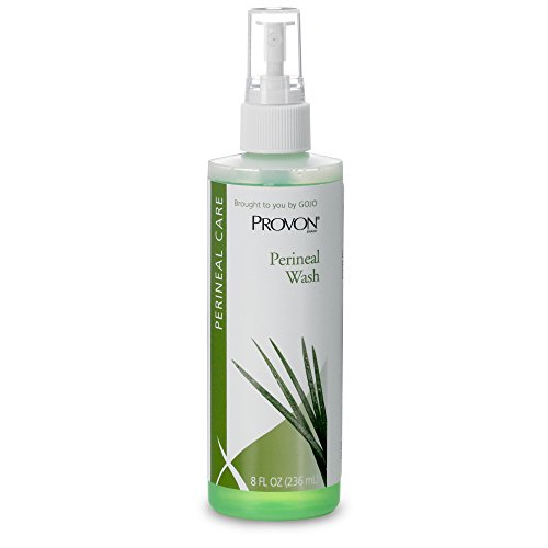 PROVON Perineal Wash, Clean Fragrance, 8 fl oz Fast-Acting, No Rinse Required -