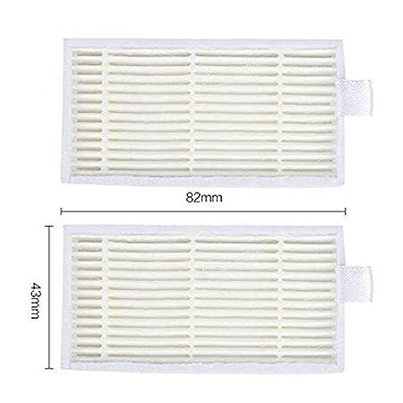 SODIAL Paquete de 10 Filtro Hepa Superior para Ilife V3S V5 V5S V3S Pro Aspirador Robótico: Amazon.es: Hogar