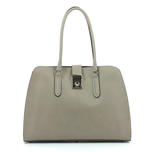 Furla Milano shopping bag grey