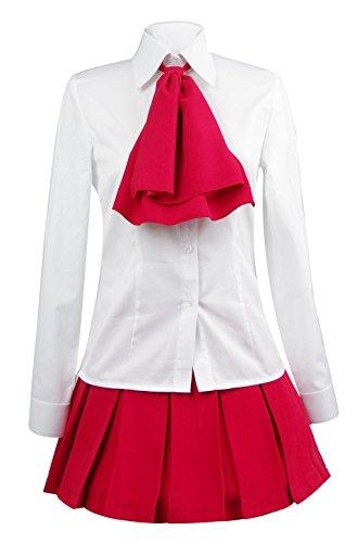 Ice Dream Womens White Shirt Red Skirt