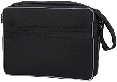 Messenger Nappy Bag with Mat Black Obaby Changing Bag RRP £24.99