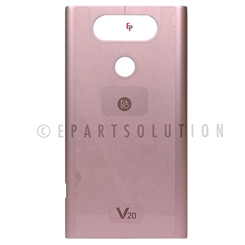 ePartSolution_LG V20 F800L H910 H915 H990 LS997 US996 Housing Battery Door Back Cover + NFC Replacement Part USA Seller (Pink Battery Door)