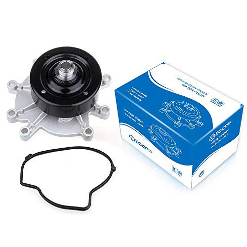 ECCPP New Water Pump for 00-13 Dodge Jeep Mitsubishi 3.7L 4.7L Engine CR4350 (Water Pump For 2006 Jeep Grand Cherokee)