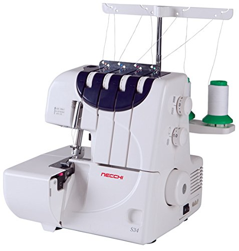 Necchi S34 – 3 or 4 Thread Convertible Serger