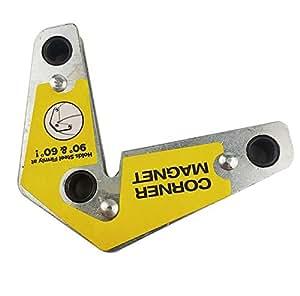 Soporte magnético de soldadura de doble ángulo con imán de esquina para soldar 60 90 grados