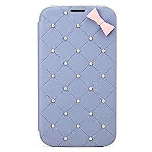 conseguir Serie Perla 8thdays Monroe Caso de cuerpo completo para Samsung Mega 6.3 , Blanco