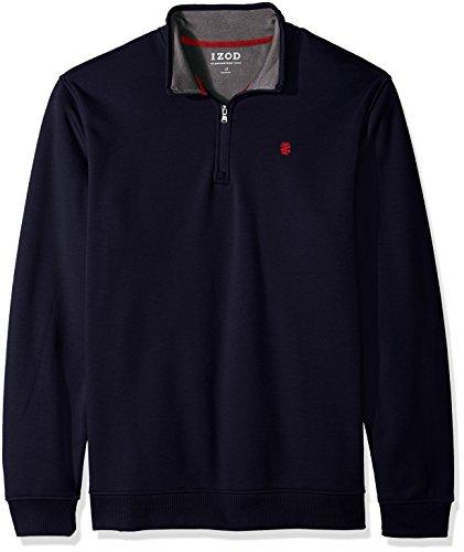 Fleece 1/4 Zip Pullover Sweatshirt - 4