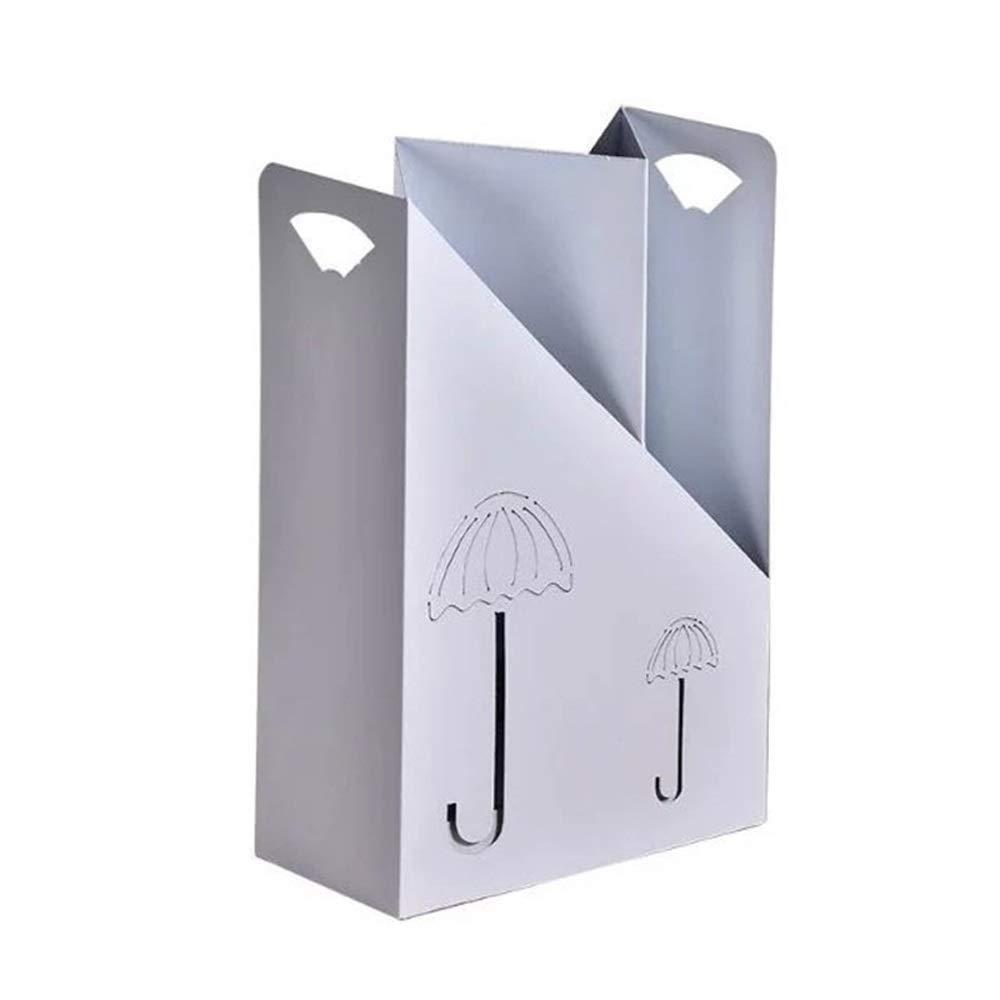 XINGZHE 傘立てクリエイティブシンプルで実用的な傘立てホームオフィススーパーマーケット銀行傘バレルホテルロビー収納傘立て、60×40×20センチ 屋内 (Color : A) B07SR3HVFZ A