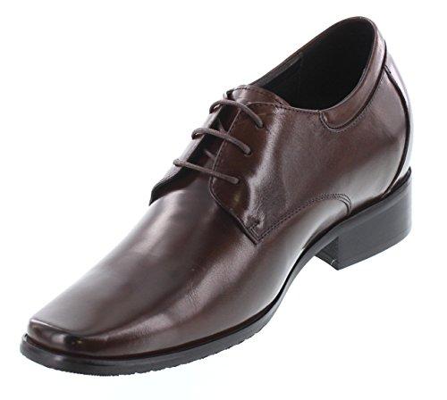 CALDEN Zapatos de Cordones de Piel Para Hombre