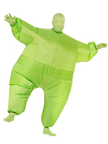 Rubie's Inflatable Full Body Suit Costume, Green, One -