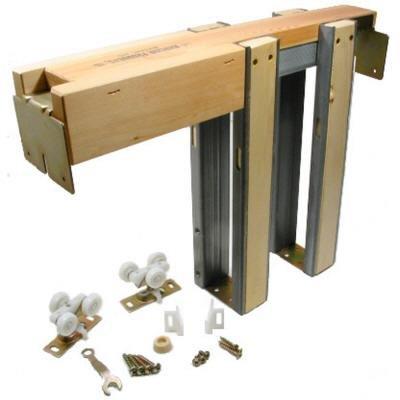 1500 Commercial Grade Pocket Door Frame (48'' x 80'')