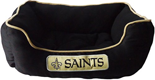 Pets First NFL New Orleans Saints Bed for Dogs & Cats