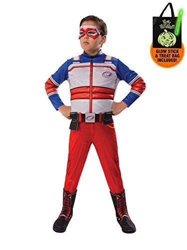 (Henry Danger Child Costume Treat Safety Kit-M)