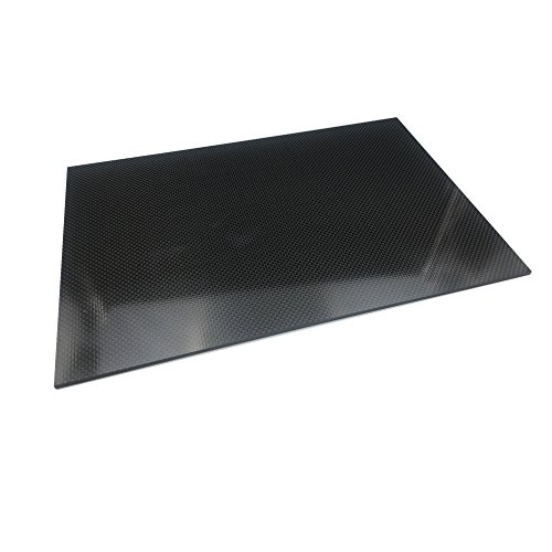 200X300X3.0MM 100% 3K Plain Weave Carbon Fiber Sheet laminate Plate Panel