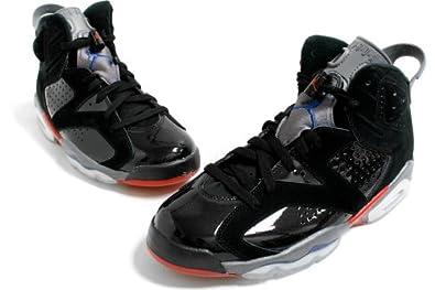 new style e94bd ae022 Amazon.com   Jordan Nike Air 6 Retro Detroit Pistons VI Mens Basketball Shoes  384664-001   Shoes