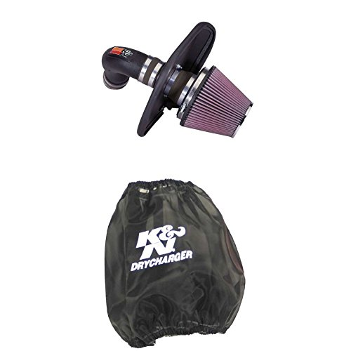 K&N 57-3040 Performance Air Intake System with Black Air Filter Wrap