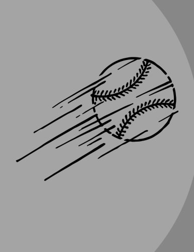 Download Baseball Notebook - 4x4 Quad Ruled: 8.5 x 11 - 200 Pages - Graph Paper - School Student Teacher Office ebook