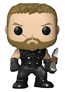 Funko Pop Marvel: Avengers Infinity War-Thor Collectible Figure, Multicolor