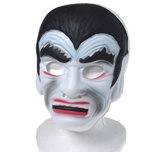 3-Piece Halloween Costume Set - The Dracula Medal, Foam Vampire Mask and Fangs - Crazy Masks For Sale