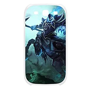 Hecarim-001 League of Legends LoL case cover Ipod Touch 5 Plastic White