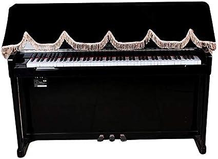 HNEVZKXR Cubierta de Teclado de Piano electrónico de 88 ...