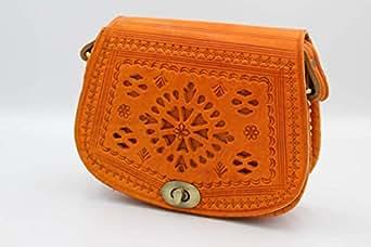 UNIDOS Bag For Women,Orange - Crossbody Bags