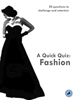 A Quick Quiz Fashion Kindle Edition By Rachel Scott