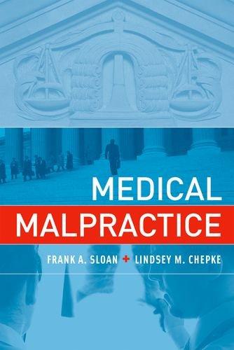 Medical Malpractice (MIT Press)