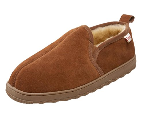 Tamarac by Slippers International Men's Cody Sheepskin Slipper,Allspice,9 M